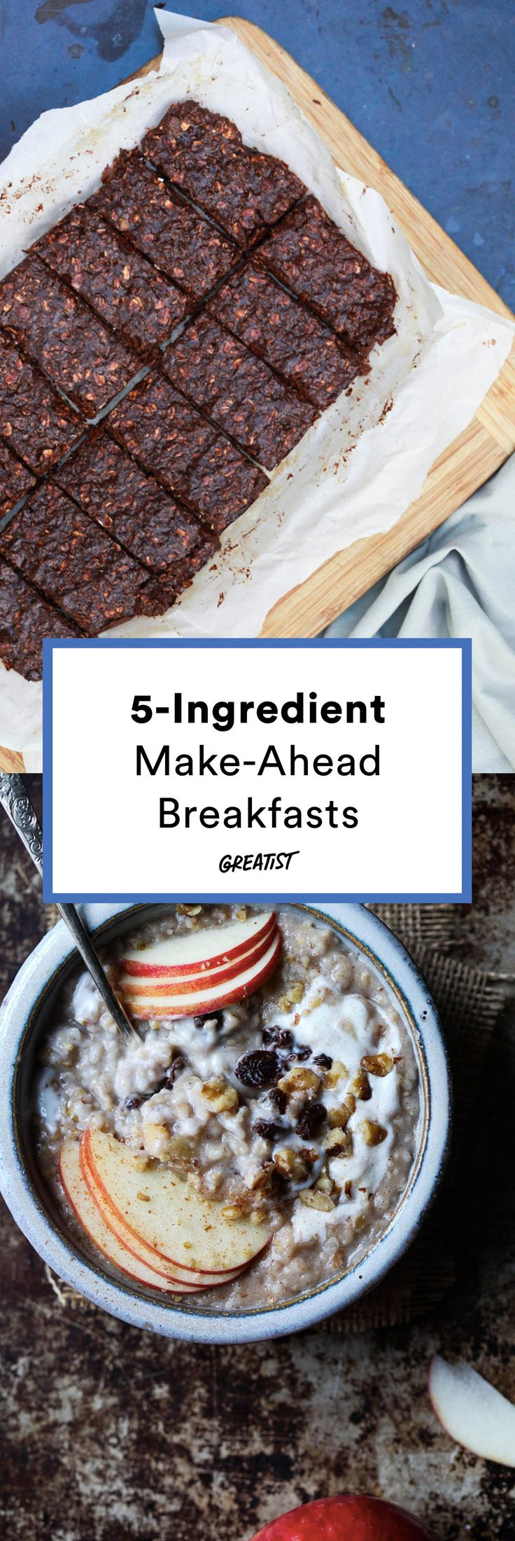 Rise and shine, it's already-made-breakfast time.  #greatist https://greatist.com/eat/make-ahead-breakfasts-with-5-ingredients