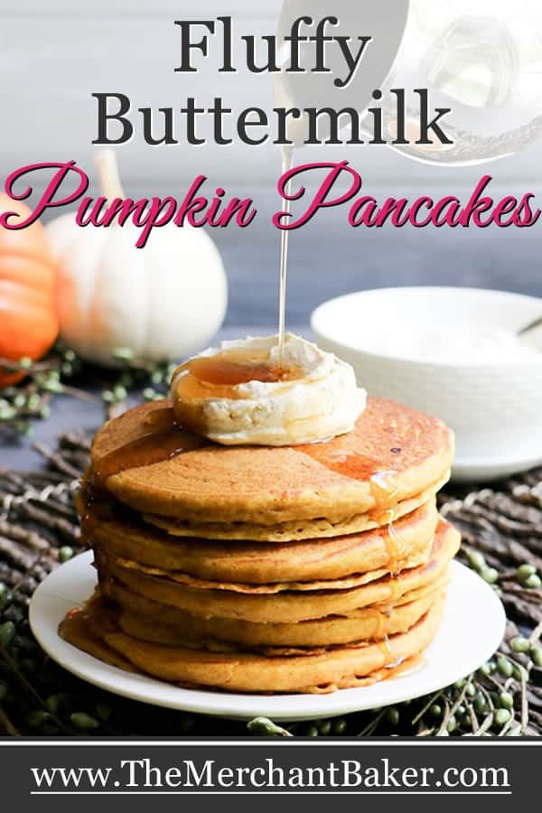 Fluffy Buttermilk Pumpkin Pancakes With Brown Sugar Spiced Cheesecake Topping Recipe Pumpkin Buttermilk Pancakes Pumpkin Pancakes Savory Pumpkin Recipes