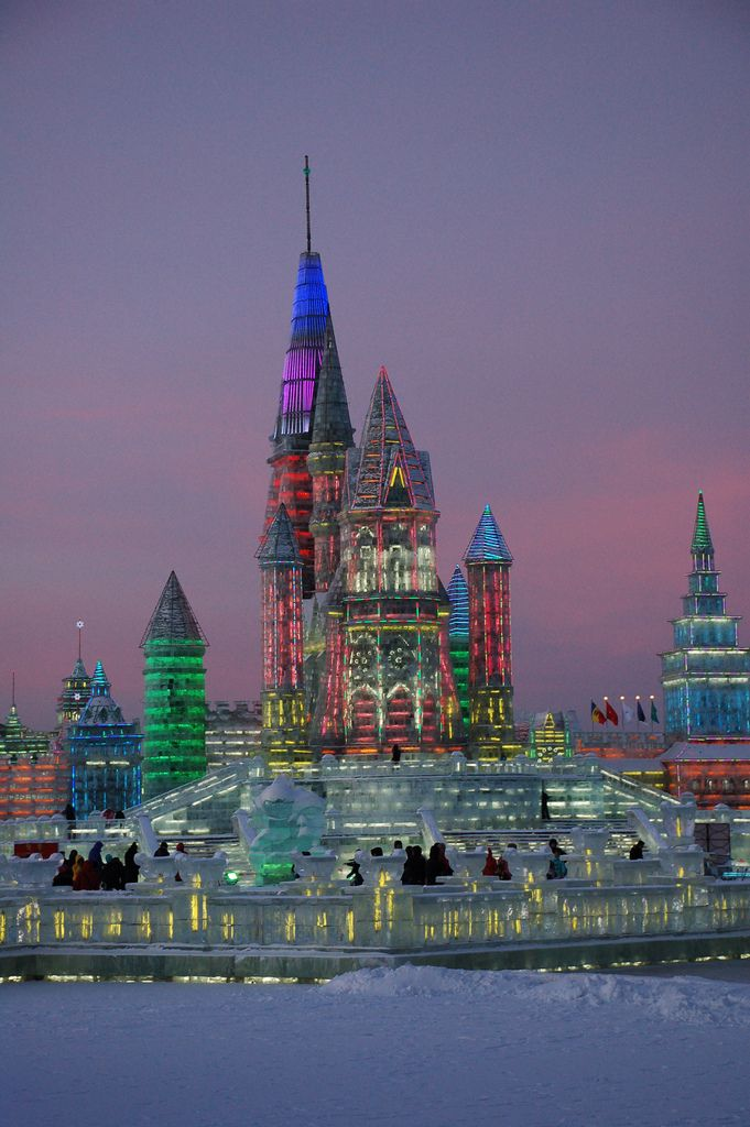 Harbin Ice Festival, Northeast China
