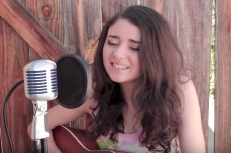 Julianna singing elvis