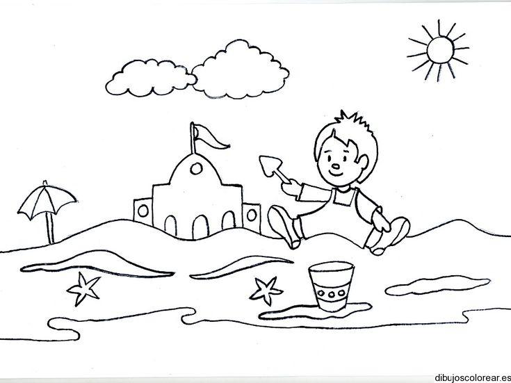 Dibujosdepaisajesparacoloreareimprimir Coloring Pages 4