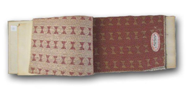 Tekstiilejä Tampereelta: Tampellan paperisten huonekalukankaiden mallikirja 1940-luvulta