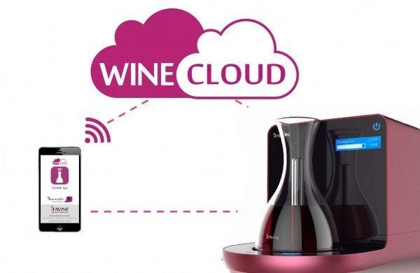 Carafe à vin intelligente et connectée, mai 2015
