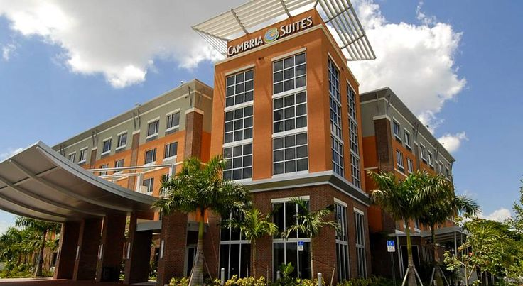 CAMBRiA Hotel & Suites Ft Lauderdale, Airport South & Cruise Port Dania Beach Located off Interstate 95, this Dania, Florida hotel is 10 minutes' drive from the Fort Lauderdale International Airport. This hotel features a hot tub and suites with free WiFi.