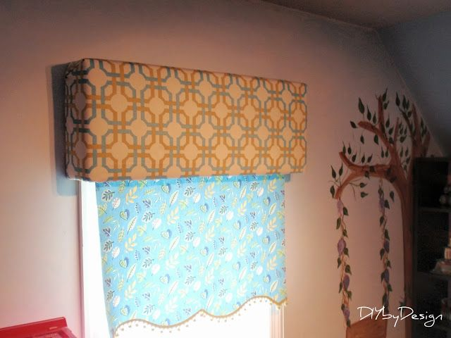 Cute Idea For A Window Treatment From Diybydesign Using