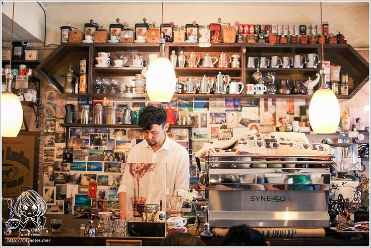 Cafes in Taipei that you might wanna visit