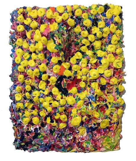 Bradley O'Brien, Paint/pollen storm on ArtStack #bradley-o-brien #art