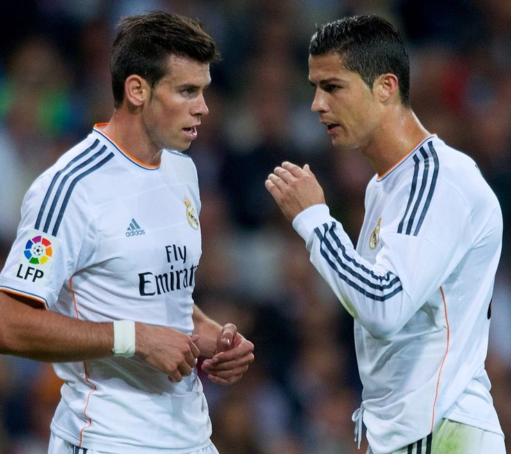 Gareth Bale & Christiano Ronaldo Real Madrid 2014 (90952) on