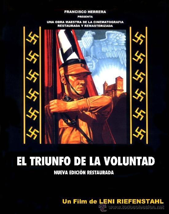 El triunfo de la voluntad (1935) Alemaña. Dir: Leni Riefenstahl. Documental. Nazismo - DVD DOC 120-I