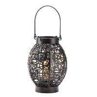 Lantern at wholesaler $7.82: Delicate Webwork, Modern Art, Ever Changing Pattern, Living Spaces, Candle Holders, Candles, Candle Lanterns, Spellbinder Candle