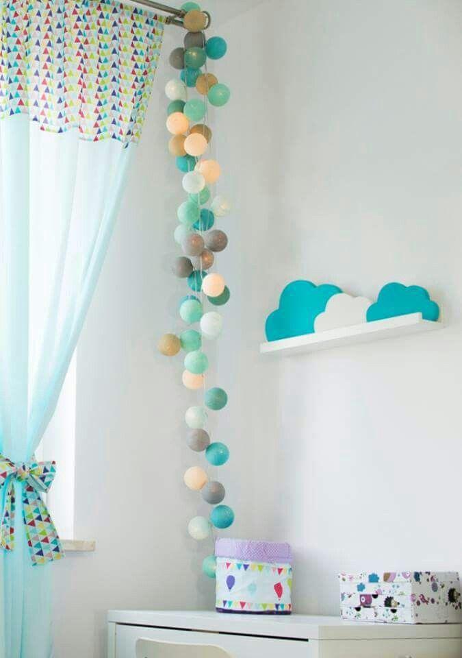 #cottonovelove #cottonballlights #home #interior #design #cottonballs #fairylights #cottonfairy #glow #świecącekulki #cottonfairylight #homedesign #kidsroom #homedecor #scandinaviandesign #scandidesign #minimalism