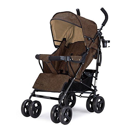 Knorr-baby 847700Buggy Crosser Melange, color marrón  #carritosbebeorg