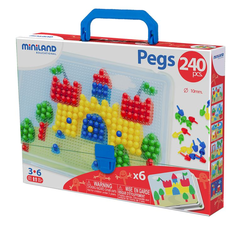 Miniland Pegs Mosaics