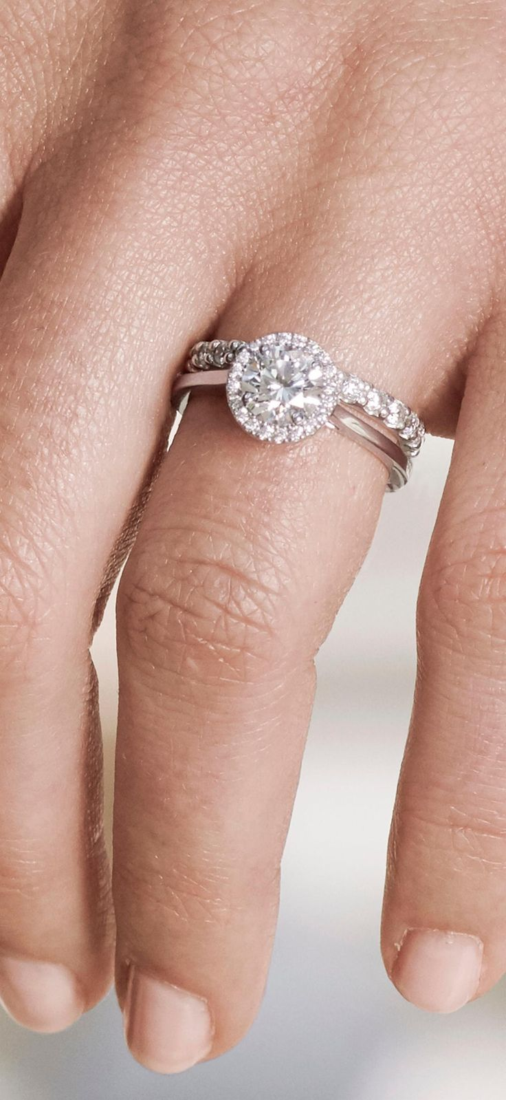 73 best Diamond Engagement Rings images on Pinterest | Capri ...