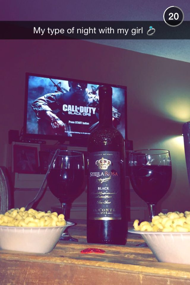Call Of Duty Black Ops, Stella Wine, and Broccoli Cheese Pasta