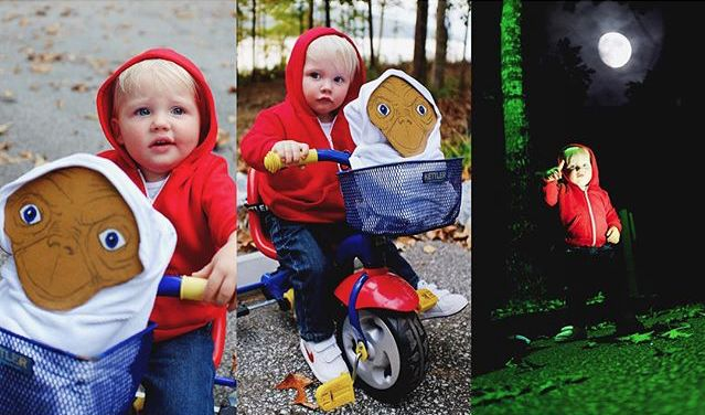 This Little Boy Dressed Up in Homemade Halloween Costumes Is Going to Be Your New Obsession