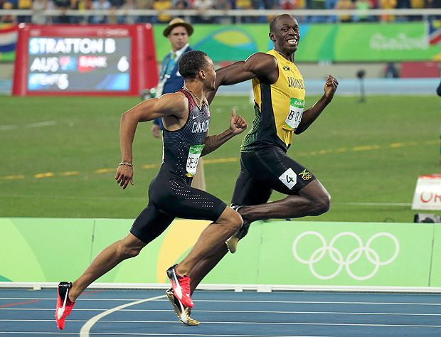 2016 Rio Olympics - Athletics - Semifinal - Men