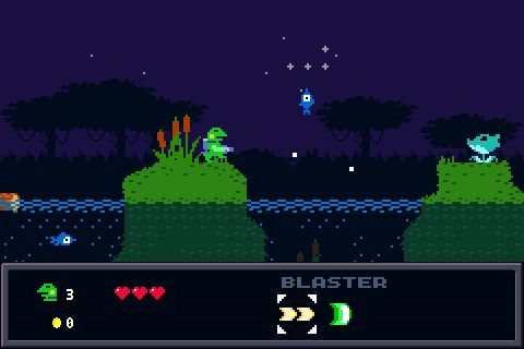 Kero Blaster - studio pixel