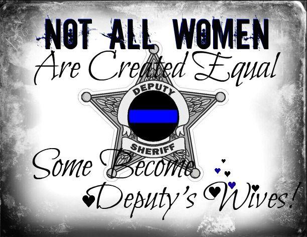 <3 my Deputy Sheriff