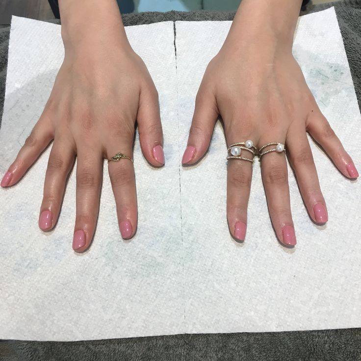 Shellac 2018 summer! Nude pink color