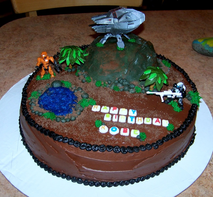 15 best scouts cake ideas images on Pinterest Halo cake