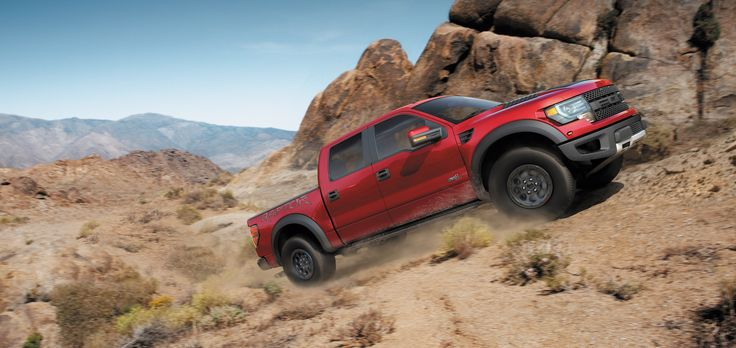Conquer All Trails In A Used #Ford F-150 SVT Raptor