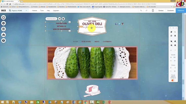 News Videos & more -  Website maken met WiX (2) #Music #Videos #News Check more at https://rockstarseo.ca/website-maken-met-wix-2/