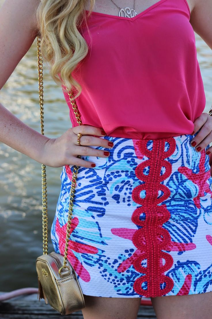@Lilly Pulitzer skirt in She She Shells Teen fashion Cute Dress! Clothes Casual Outift for • teens • movies • girls • women •. summer • fall • spring • winter • outfit ideas • dates • school • parties mint cute sexy ethnic skirt