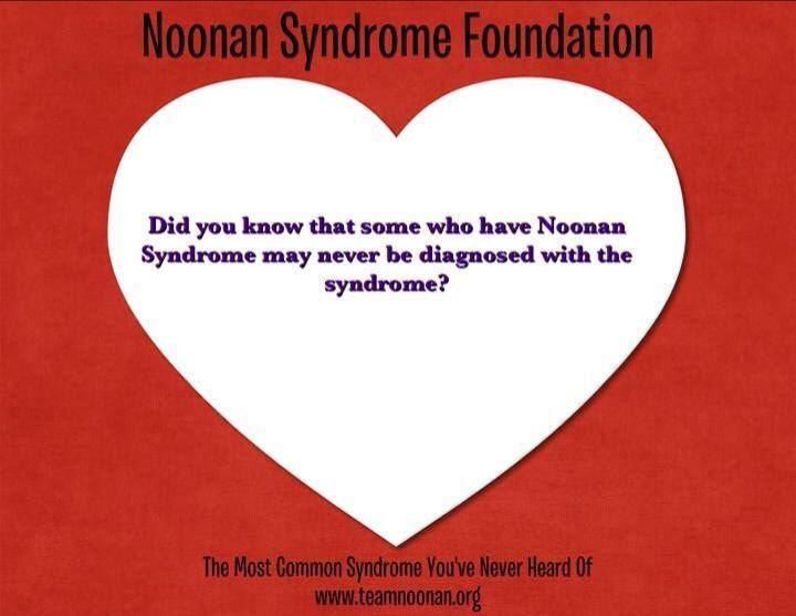 Day 13 of 28... Noonan Syndrome Awareness!