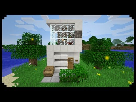 small modern house minecraft. minecraft how to make a small modern house 5x5 youtube y