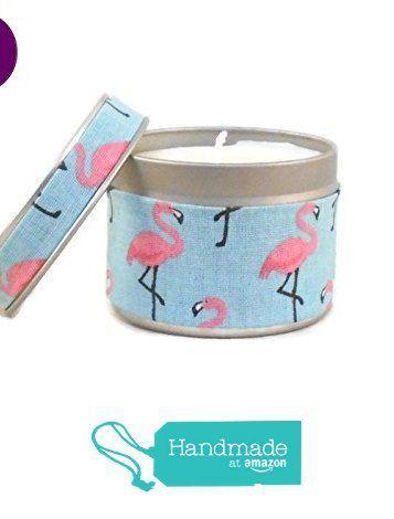 Bougie Parfumée Fleur des îles Cire Végétale, Tissu Flamingo, Flamants roses, Bougie Naturelle Cadeaux de Noël à partir des Dude https://www.amazon.fr/dp/B0761SXPKM/ref=hnd_sw_r_pi_dp_.MNZzbJE8C4ED #handmadeatamazon