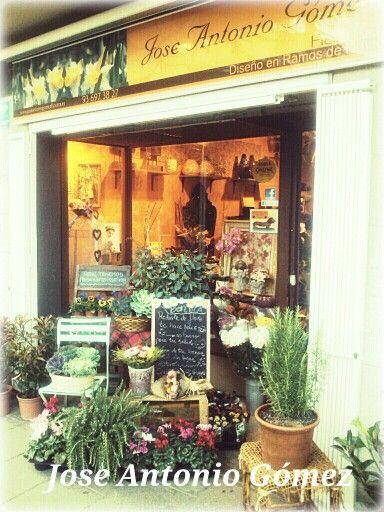 Iré a comprar mis flores...