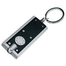 Promotional Keyring with white led (Item: W4M1549) from £0.29 plain or branded by Water4Fish - Promotional Products & Items