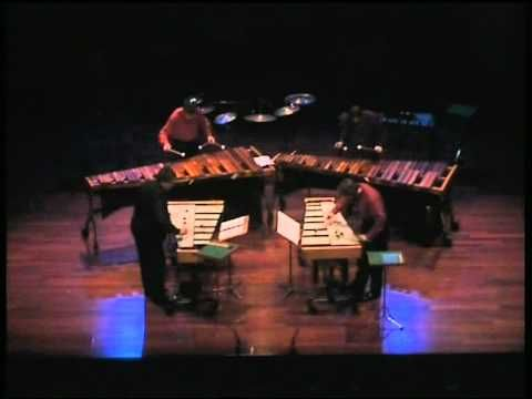 Steve Reich - Mallet Quartet [performed by Amadinda Percussion Group]