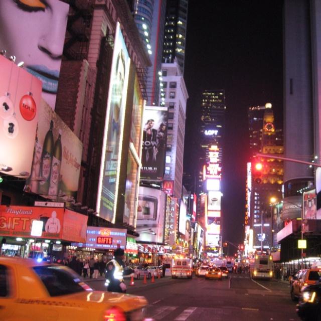 Time Square!