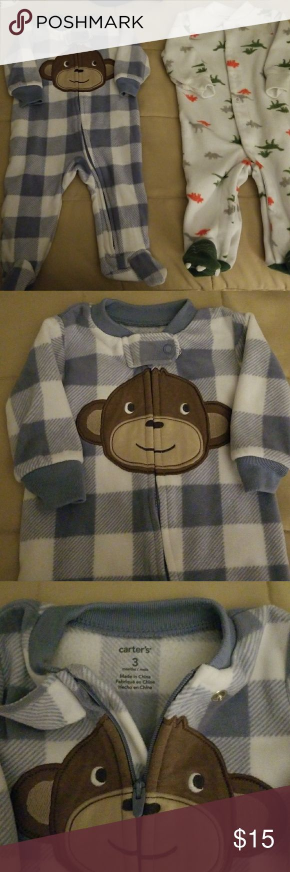 I just added this listing on Poshmark: Carter's footed fleece pajamas. #shopmycloset #poshmark #fashion #shopping #style #forsale #Carter's #Other