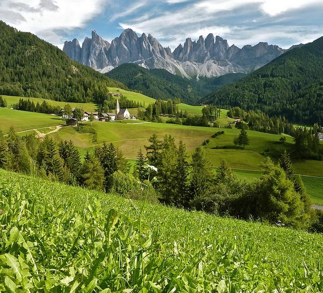 Santa Maddalena, Trentino-Alto Adige #Italy