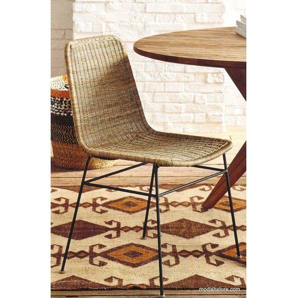 Roost Ingrid Rattan Dining Chair - Set/2