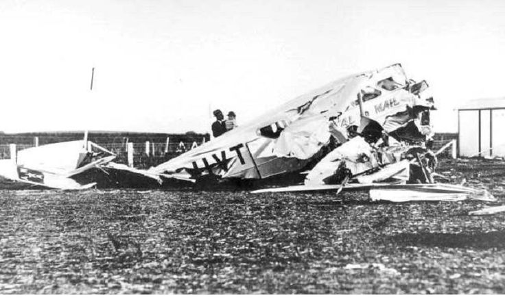 1937 WRECK AT MOUNT GAMBIER