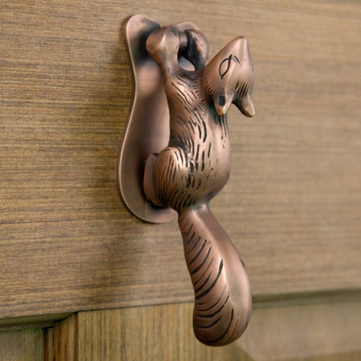 Squirrel Door Knocker - Door Knockers - Hardware
