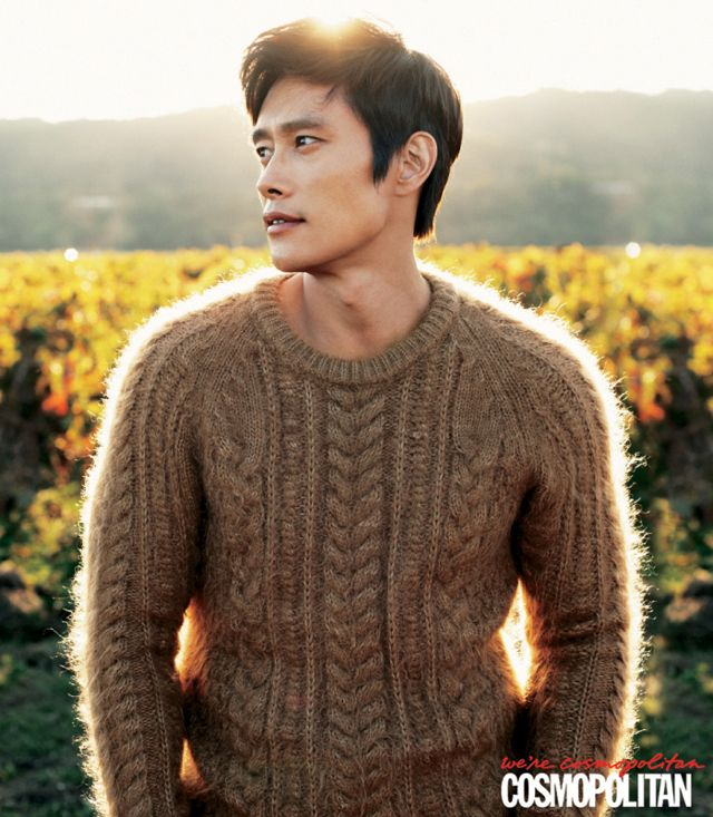 Lee Byung Hun - Cosmopolitan Magazine Ok - let's go there.....
