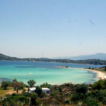 Nice view of #beach Lagonisi #Sithonia #Halkidiki