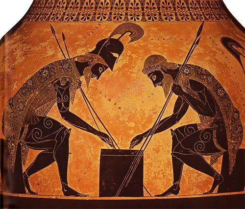Afbeeldingsresultaat voor greek pottery writing