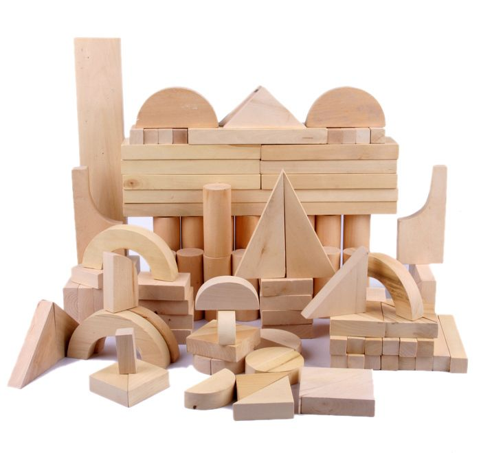 high quality 116 pcs wooden natural block set oemodm educational wooden building block view wooden building block sing2sky wooden building block product - Painted Wood Castle 2015