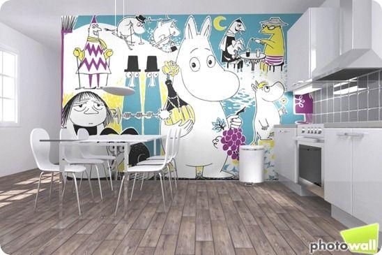 Moomin wall