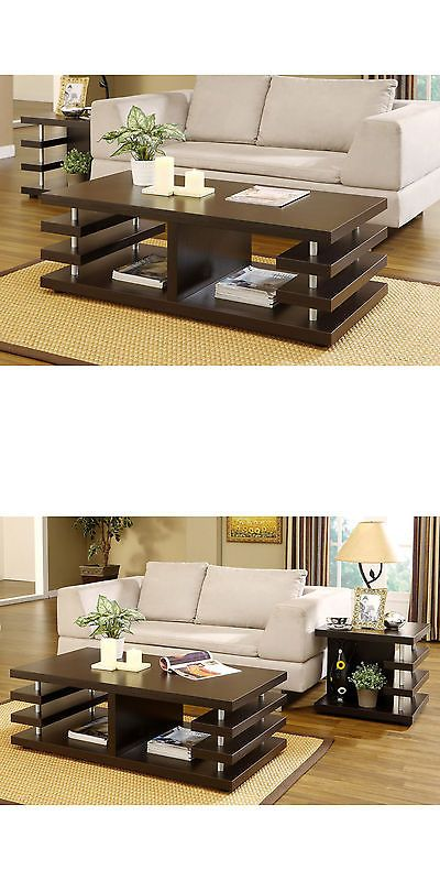 Tables 38204: Furniture Of America Architectural Inspired Dark Espresso Coffee Table Home New -> BUY IT NOW ONLY: $155.49 on eBay!