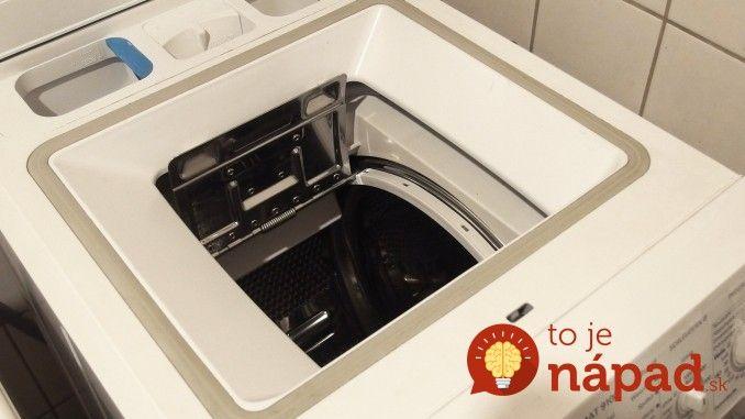 Ocot a sóda sa na toto nechytajú: Najrýchlejšia pomoc, keď cítite zápach z práčky - po tomto zmizne, ako mávnutím prútika!