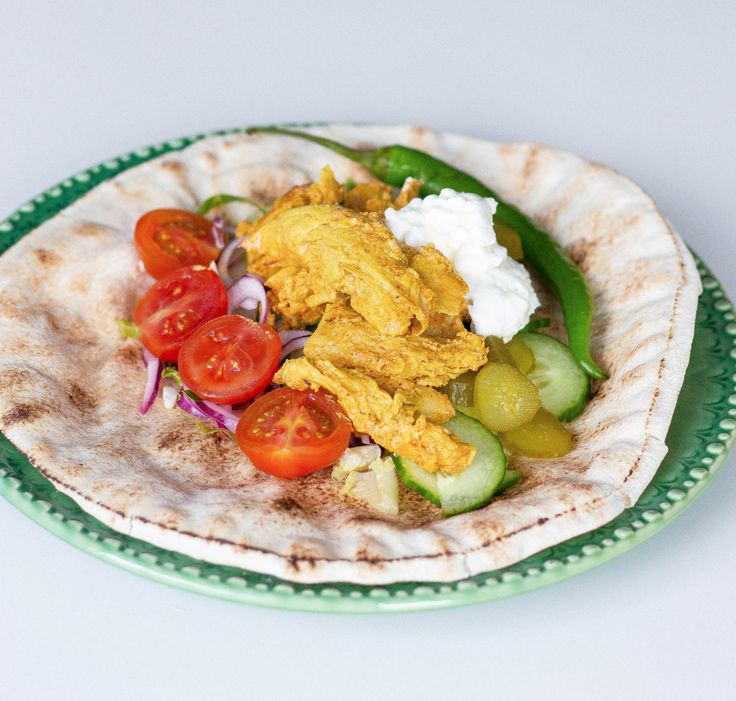 Vegetarisk shawarma- Oumph kebab