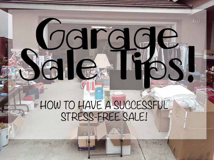 Garage Sale Tips Yard Sale Tips Multi Family Yard Sale Tips Multi Family Garage Sale Tips Organized Yard Sale Organized Garage Sale Make Money