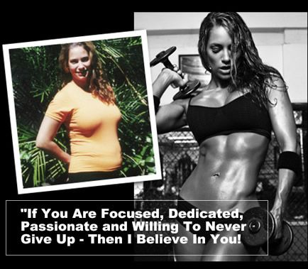 If you are focused, dedicated, passionate and willing to never give up. Then I Believe In You!